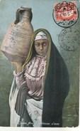 Egypte - Jeune Arabe Porteuse D'eau