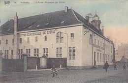 Dolhain - L'Ecole Moyenne De L'Etat (animée, Colorisée, Legia) - Limbourg