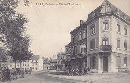 Dolhain - Place D'Andrimont (animée, Attelage, Marchand Ambulant, Café, Téléphone Public, 1914, Deutsche Restaurant) - Limbourg