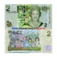 Fidji - Pk N° 109 - De 2 Dollar Comme Neuf - Fidji
