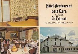 HOTEL RESTAURANT DE LA GARE/MONTDAUPHIN GARE (dil200) - Hotels & Restaurants