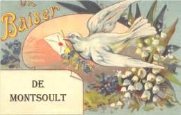 95 - VAL D OISE / Fantaisie Moderne - CPM - Format 9 X 14 Cm - MONTSOULT - Montsoult