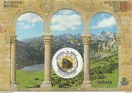 2017-ED. 5142 H.B. DESPLEGABLE- Patrimonio Mundial. Monumentos De Oviedo Y Reino De Asturias  -NUEVO