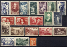 Francia 1937 20 Val. **/MNH VF/F