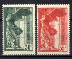 Francia 1937 Unif  354/55 **/MNH VF/F