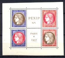 Francia 1937 Unif  348/51 **/MNH VF/F