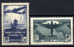 Francia 1936 Unif  320/21 **/MNH VF/F
