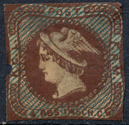 Stamp Essay Probe Trial E4ac Denmark Danmark 4 RBS Mercurius 1854 - 1851-63 (Frederik VII)