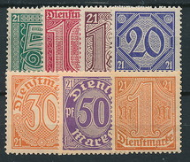 D. Reich Dienst. Nr. 16-22 ** ~ Michel 48,-- Euro