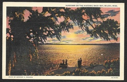 BILOXI Sundown On The Historic Back Bay MS - Autres