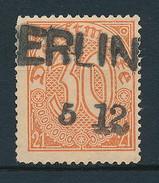 D. Reich Dienst. Nr. 20 Interessanter Stempel