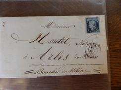 Lot Du 28.05.17_LAC De Lyon Avec N°4; Tardif;variétés ,a Voir!! Et Texte  Sep 53 De Ste-Foix-les-Lyon - 1849-1850 Cérès