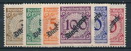 D. Reich Dienst. Nr. 99-104 * ~ Michel 7,50 Euro