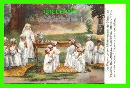 MISSIONS, BARAMOULLA -  FRANCISCAINES  MISSIONNAIRESDES  MARIE - DONNEZ-NOUS AIJOURD'HUI NOTRE PAIN QUOTIDIEN EN 1925 - - Missions
