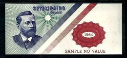 "Werbenote,Test Note ""CENTRAL BANK Of FINLAND, Typ B Green"", Promo Note, UNC-, Uniface - Ver. Königreich"