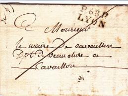 68 RHONE - LYON - 1818 - 1801-1848: Precursors XIX