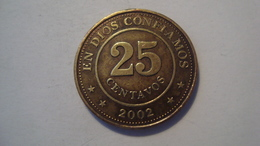 MONNAIE NICARAGUA 25 CENTAVOS 2002 - Nicaragua