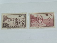 LOT N° 5 / 2 TIMBRES NEUFS SANS CHARNIERE  / TIMBRE 1900 A 1938 / COTE YT 10 EUROS - France