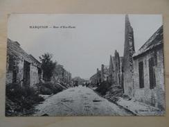 CPA - Marquion - Rue D'en Haut - Other Municipalities