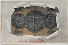 CPA Billet De Banque Banknote Non Circulé Suisse Helvétia - Monete (rappresentazioni)