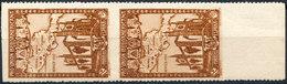 Stamp Spain 1930 Imperf Between Pair ERROR