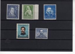 Bund Postfrisches Lot Ab Nr. 146 **   (  N  6932 ) Katalogwert 250 €