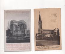 54 NANCY NOTRE DAME DE LOURDES  (CONSTRUCTION BASILIQUE EN 1911 ) - Nancy
