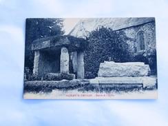 C.P.A. 50 SAINT-JEAN LE THOMAS : Entrée De L'Eglise, En 1941 - France