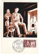 Sécurité Sociale En Andorre 1967 - Carte Maxi