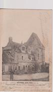 PERNANT ( Aisne ) - Guerre 1914-1918 - Le Château Bombardé. ( TIRAGE DE LA PHOTO INVERSE ). - Other Municipalities