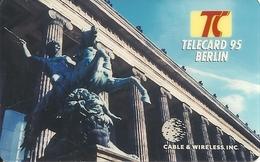 Cable & Wireless: Telecard Exposition 1995 Berlin, Germany. Mint - Vereinigte Staaten