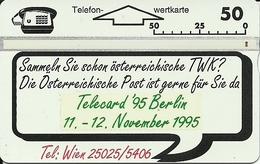 Telecard Expo 1995 Berlin - Oesterreich