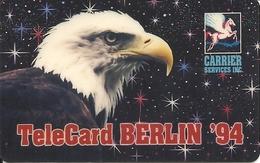 LDDS: Telecard Expo 1994 Berlin. Eagle - Vereinigte Staaten