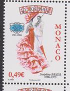 MONACO, 2006, Josephine Baker, Theatre Princesse Grace, Chanson, Cinema, 1 Val Neuve ** - Monaco