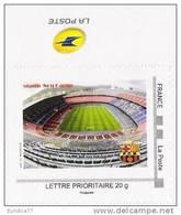 Football - Legendary Clubs/F.C.Barcelona Nou Camp Stadium - France 2012 Mon Timbre Mnh