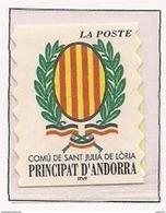 ANDORRA FRANCESA 2001 - ESCUDO DE SANT JULIA DE LORIA - YVERT Nº 542**