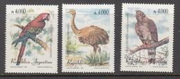 BIRDS Vogel Oiseaux 1991 Argentina Mi 2111-2113 MNH (**) #6030