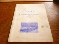 CB2 Palmarès Ecoles Primaire Et Moyenne école Normale De Nivelles 197-1971 - Livres, BD, Revues