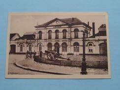 De Statie - La Gare / Anno 19?? ( Zie Foto Details ) !! - Lokeren