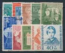 Bund. Ab Nr. 111 (Partie In 2. Wahl) ~ Michel 236,-- Euro