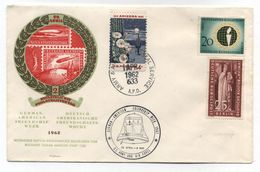 USA Germany GERMAN AMERICAN FRIENDSHIP WEEK COVER 1962 - Event Covers