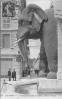 73 CHAMBERY FONTAINE DES ELEPHANTS ET RUE DE BOIGNE ANIMEES LL