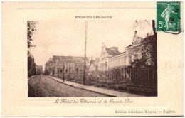 95 ENGHIEN-les-BAINS - L'hotel Des Thermes Et La Grande Rue    (Recto/Verso) - Enghien Les Bains