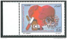 ALGERIA NEW  2015 International Year To Fight Cancer Stamp MNH - Medicine