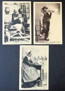 Carte Postale. Quimper, Faïencerie De La Grande Maison H.B. Trois Cartes - Quimper