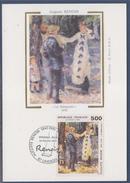 = Auguste Renoir Carte Postale 1er Jour 87 Limoges 23.2.91 N°2692 La Balançoire - Cartoline Maximum