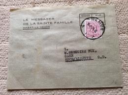 Belgique Lettre / Bande De Journal Pour Le Luxembourg  Messager Sainte Famille Habay La Neuve 1966 - Belgique