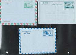 Aérogramme Neufs ; N° 1 ; Rwanda N° 1 Et Congo Belge N° 6  Côte 12€