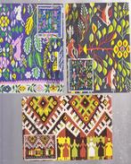 CARTPET  TRADITIONAL ROMANIA, FOLK, TAPESTRY,  3 MAXI CARD