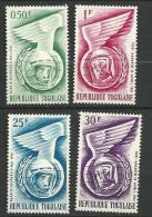 """Togo YT 350 à 353 """" Espace """" 1962 Neuf** - Togo (1960-...)"""